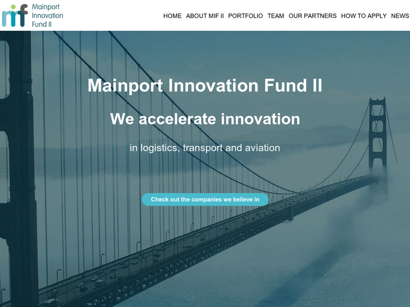 Images from Mainport Innovation Fund