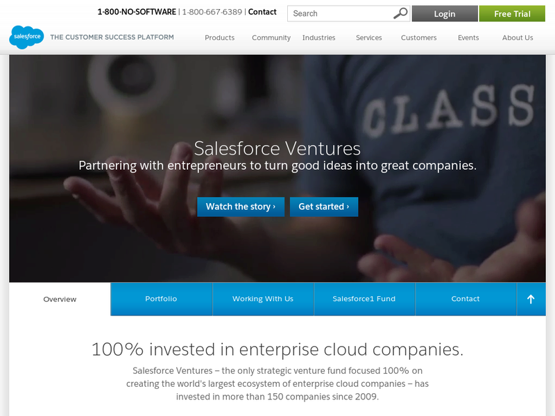 Images from Salesforce Ventures