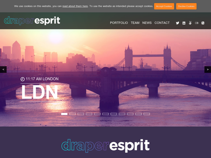 Images from Draper Esprit