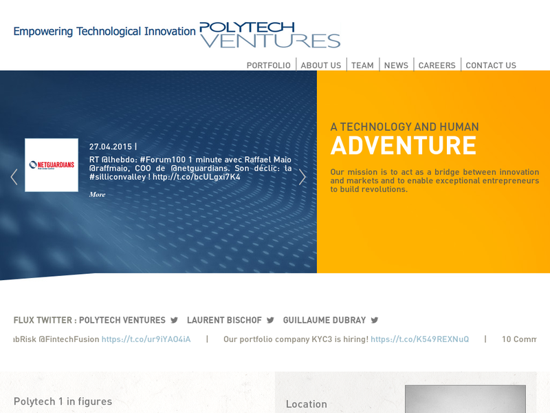 Images from Polytech Ventures
