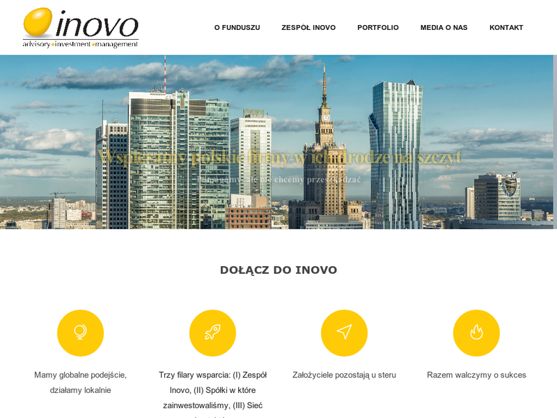 Images from Inovo Venture Fund