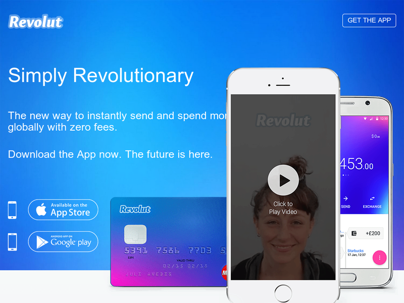 Images from Revolut