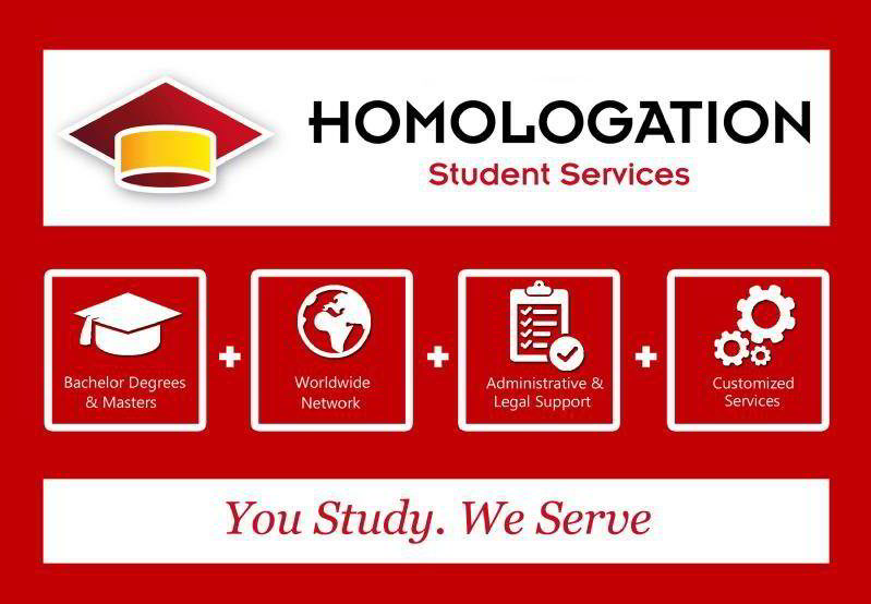 Images from Homologation Student Services