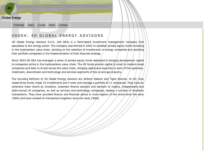 Images from 4D Global Energy Advisors