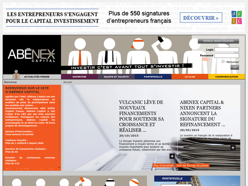 Images from ABÉNEX Capital