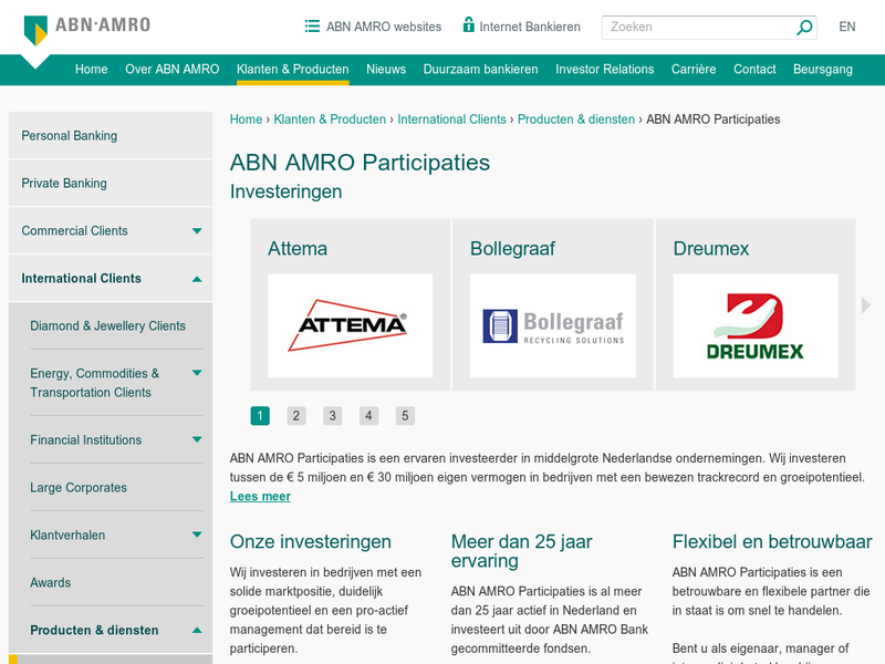 Images from ABN AMRO Participaties