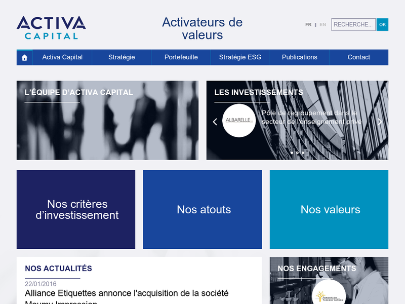 Images from Activa Capital