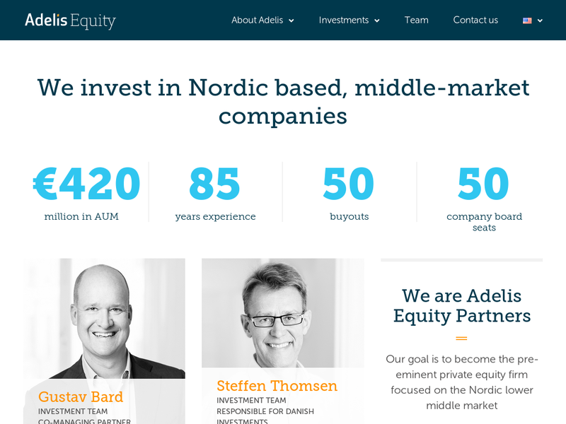Images from Adelis Equity Partners AB
