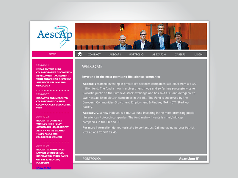 Images from Aescap Venture Management B.V.