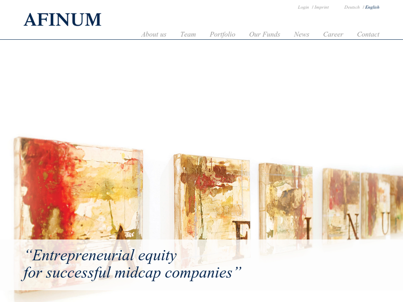 Images from AFINUM Management GmbH