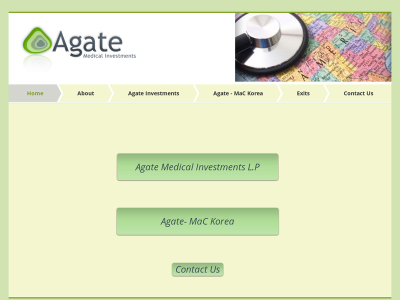 Images from Agate Medical Investments LP