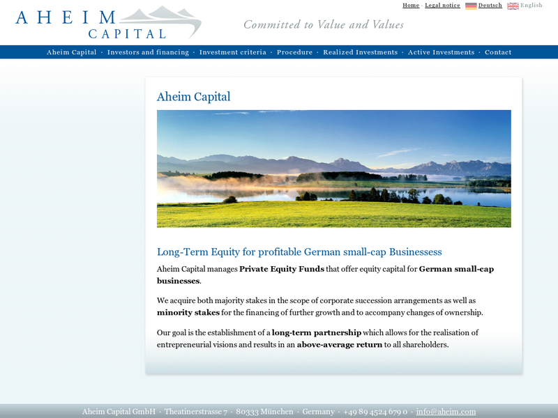 Images from Aheim Capital GmbH
