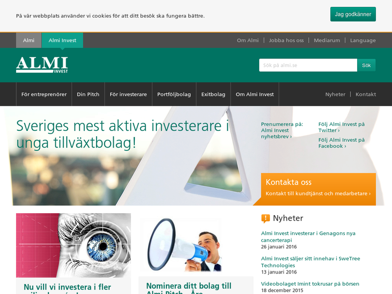 Images from ALMI Invest AB