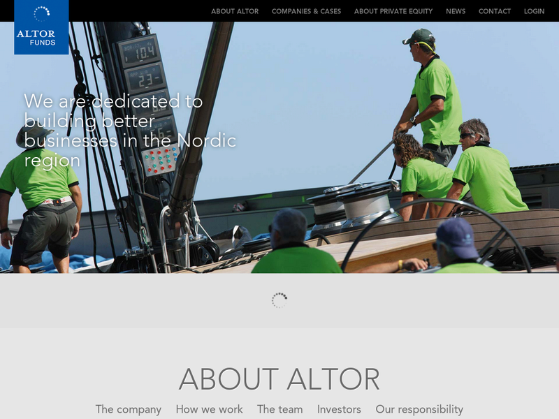 Images from Altor Equity Partners AB