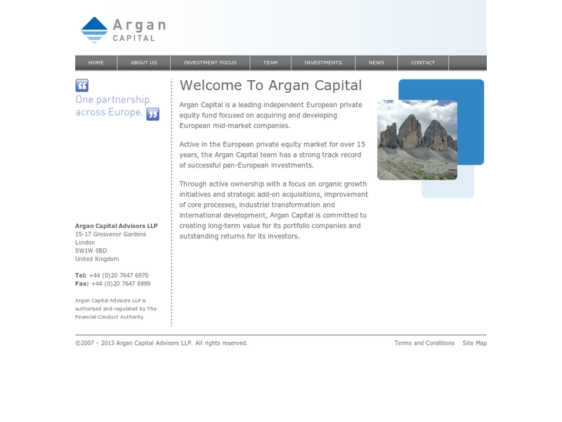 Images from Argan Capital Advisors LLP