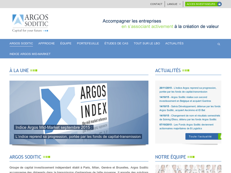 Images from Argos Soditic Benelux