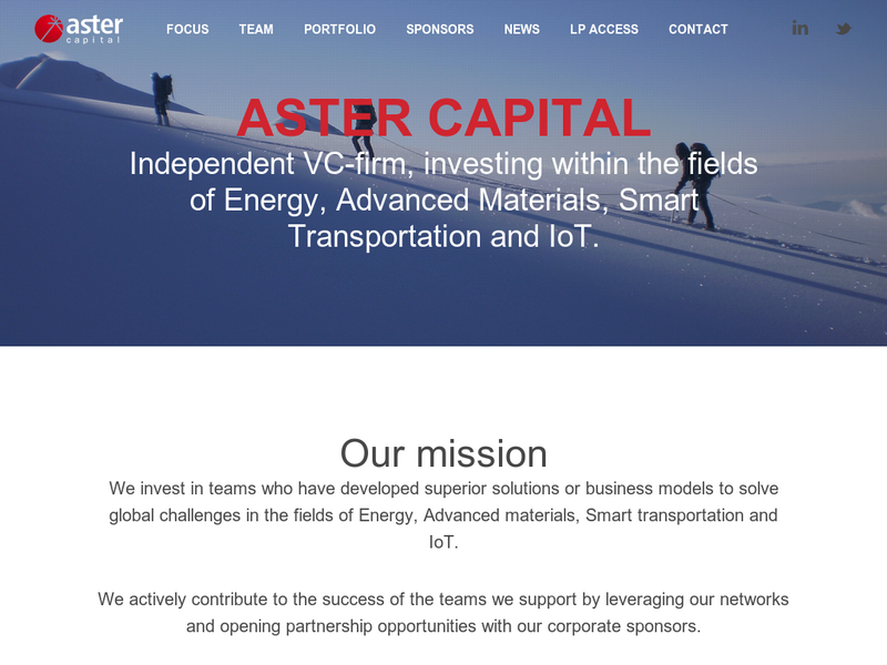 Images from Aster Capital