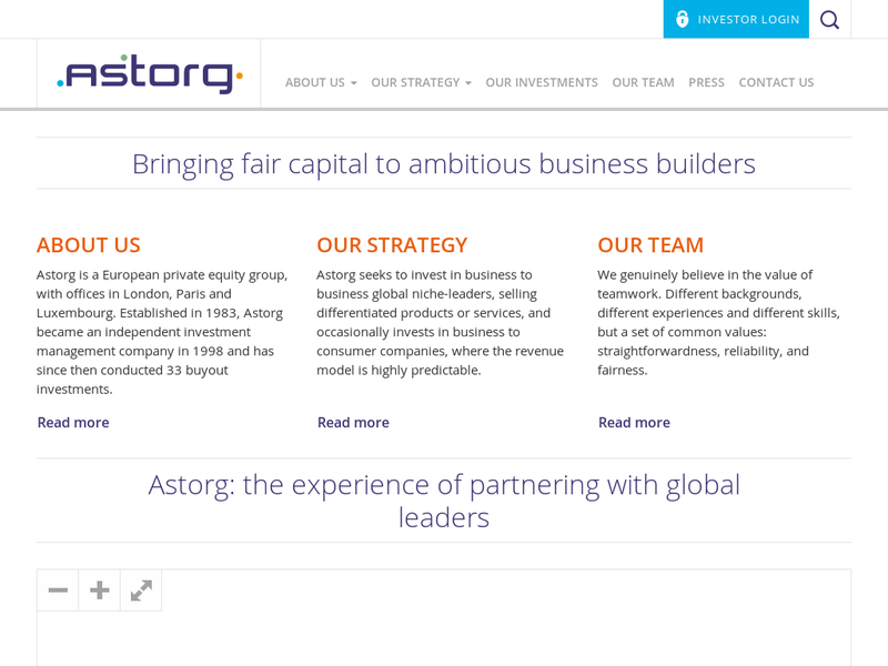 Images from Astorg Partners