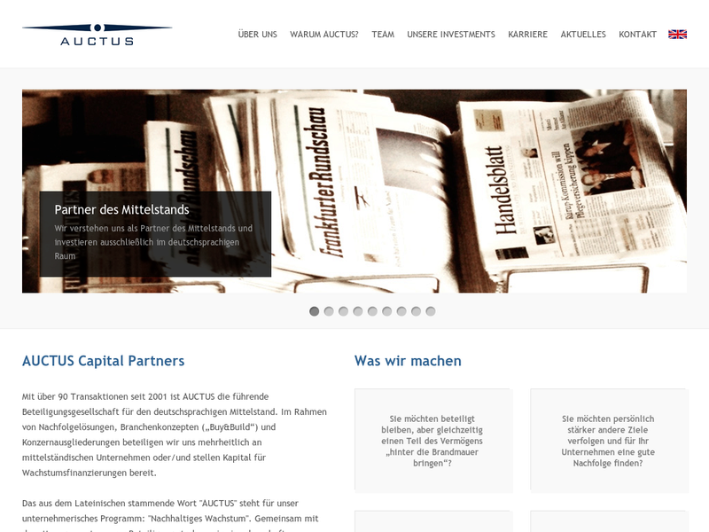 Images from AUCTUS Capital Partners AG
