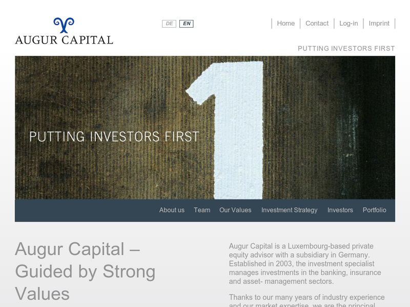 Images from Augur Capital AG