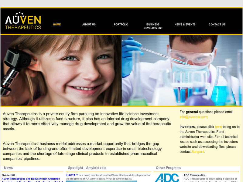 Images from Auven Therapeutics