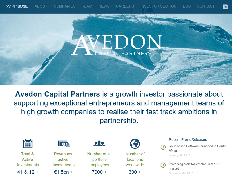 Images from Avedon Capital Partners