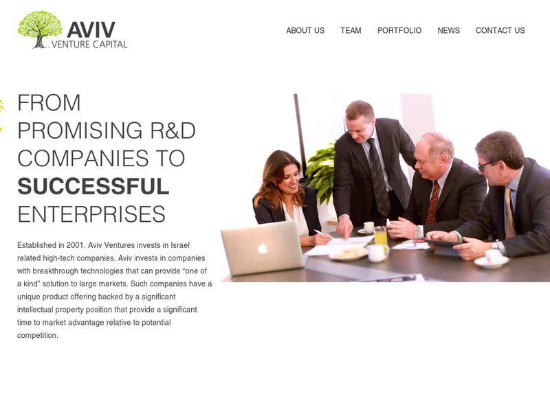 Images from Aviv Venture Capital