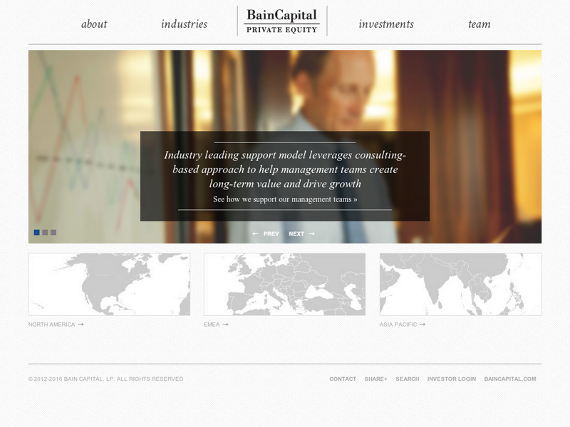Images from Bain Capital Private Equity