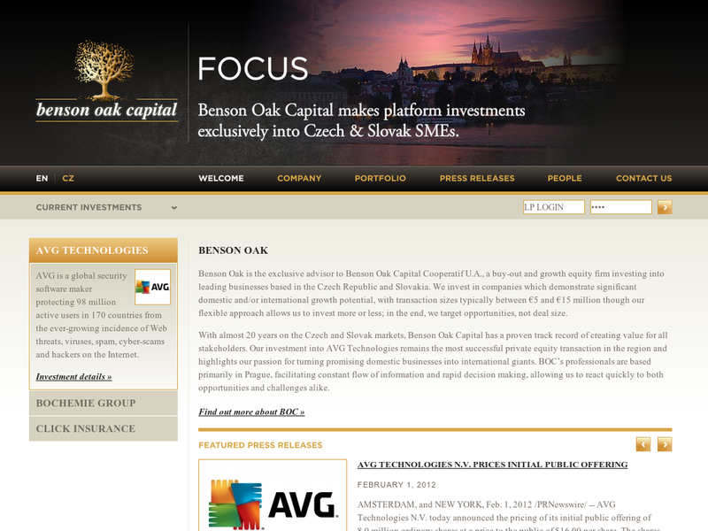Images from Benson Oak Capital