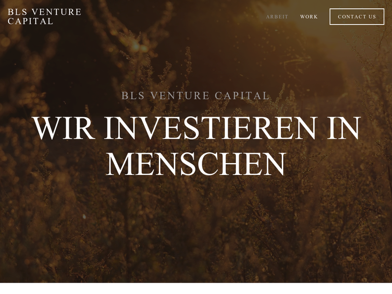 Images from BLS Venture Capital GmbH