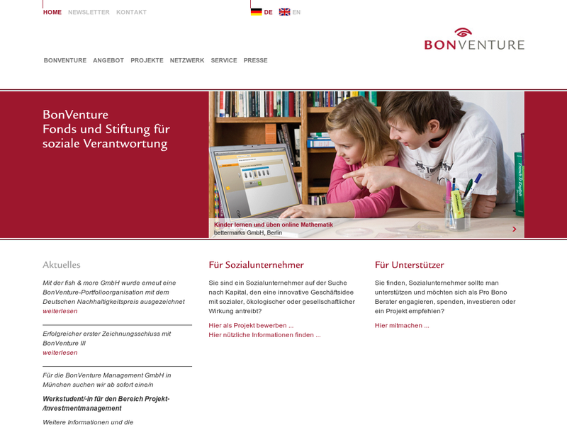 Images from BonVenture Management GmbH