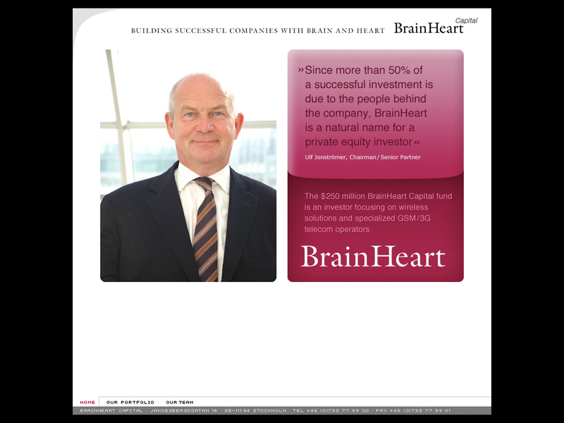 Images from BrainHeart Capital AB