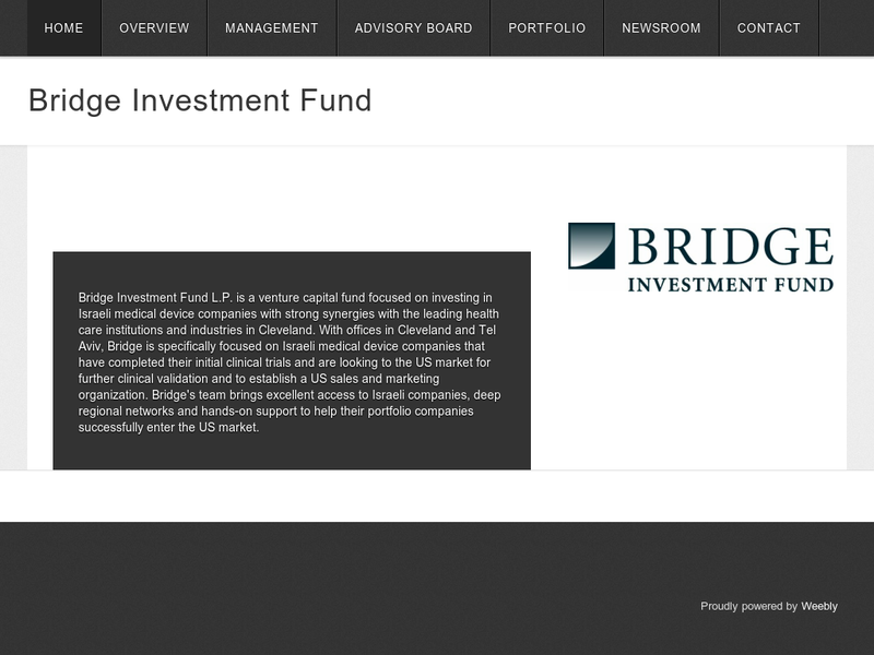 Images from Bridge Investment Fund L.P.