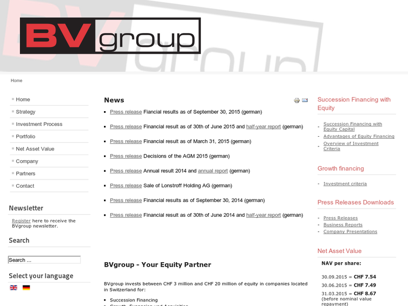 Images from BVgroup Private Equity