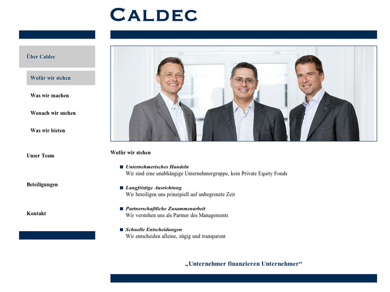 Images from Caldec Holding GmbH