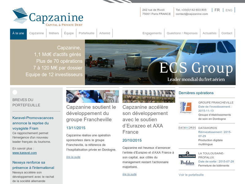 Images from Capzanine
