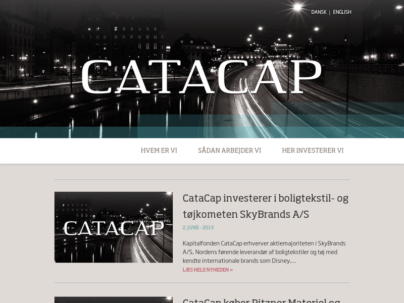 Images from Catacap Management Aps