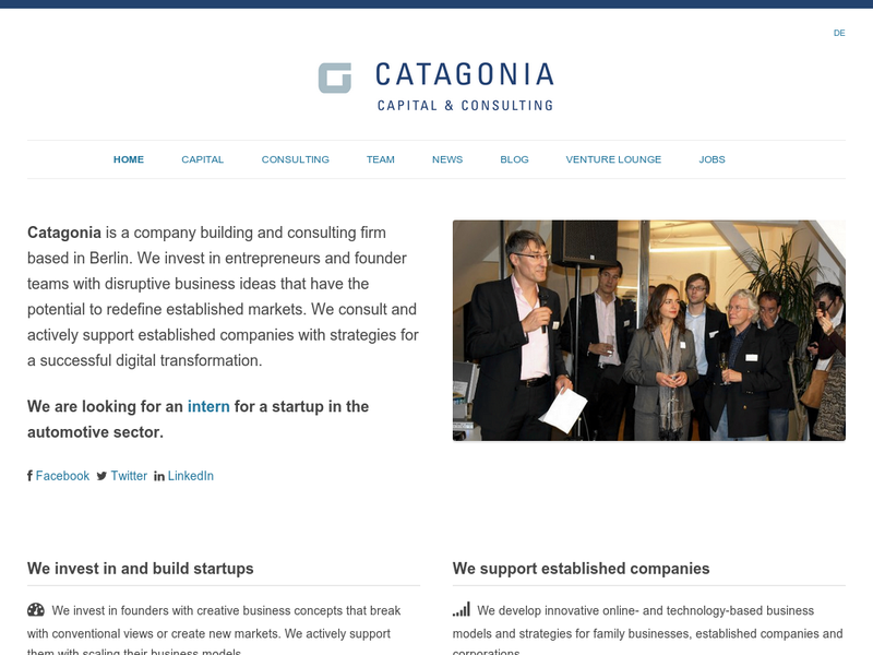Images from Catagonia Capital GmbH