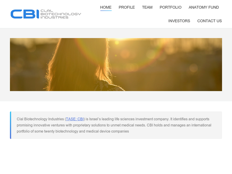 Images from Clal Biotechnology Industries Ltd.