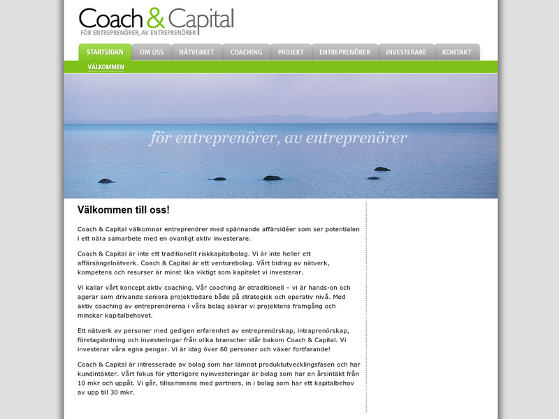 Images from Coach & Capital