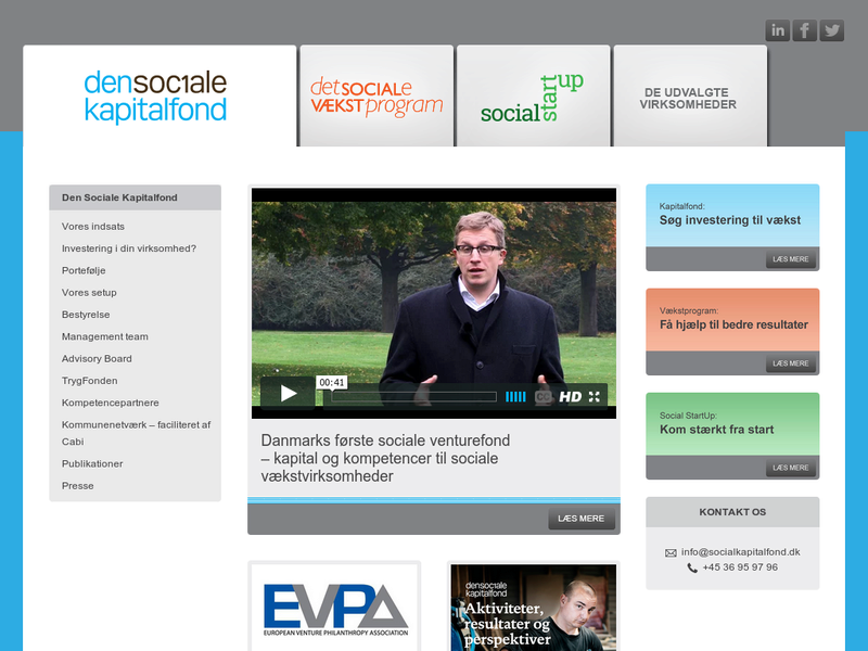 Images from Den Sociale Kapitalfond Management ApS