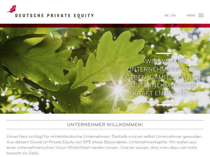 Images from DPE Deutsche Private Equity GmbH
