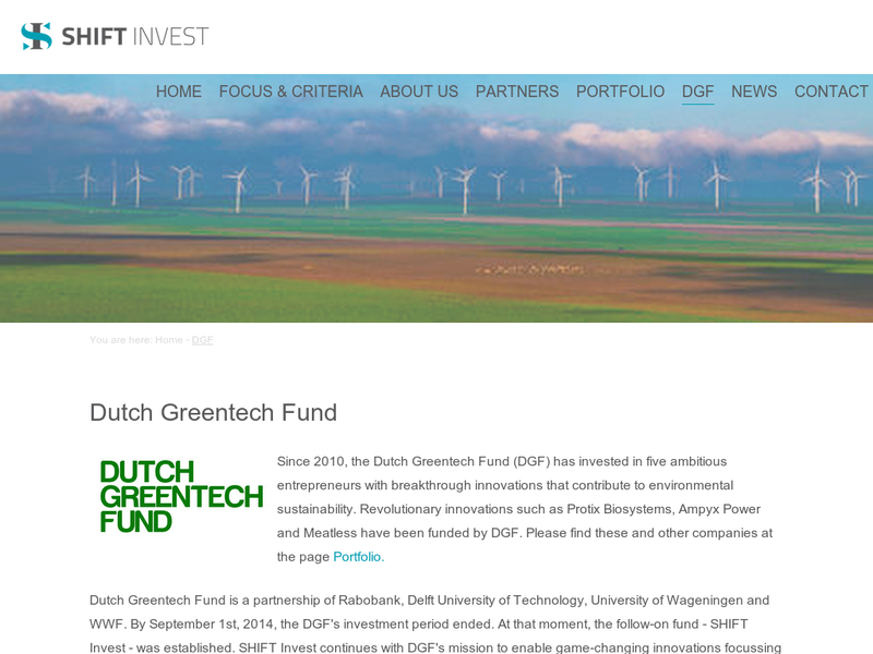 Images from Dutch Greentech Fund BV