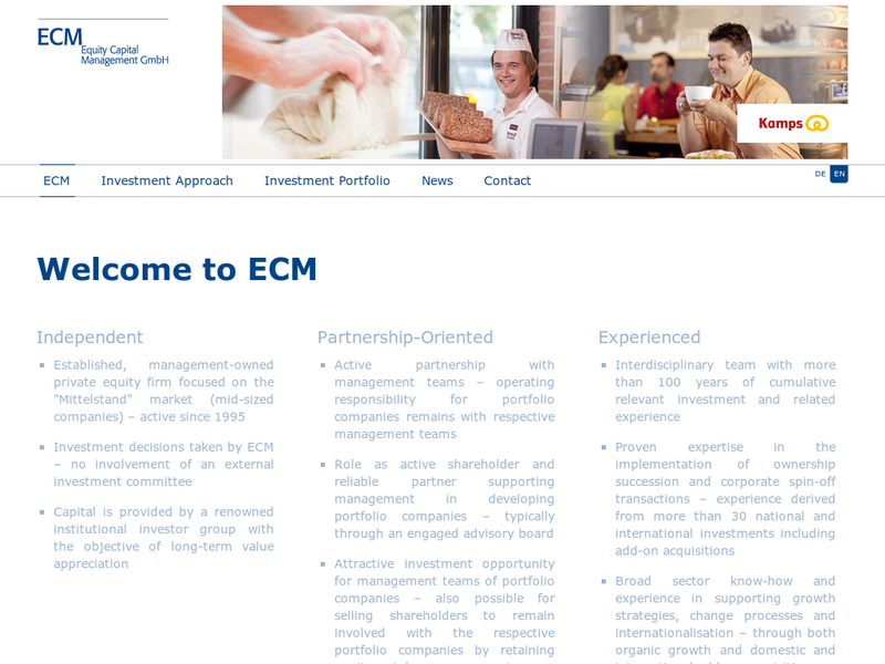 Images from ECM Equity Capital Management GmbH