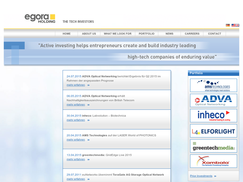 Images from EGORA Holding GmbH