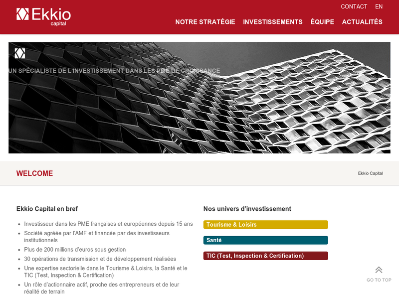 Images from Ekkio Capital