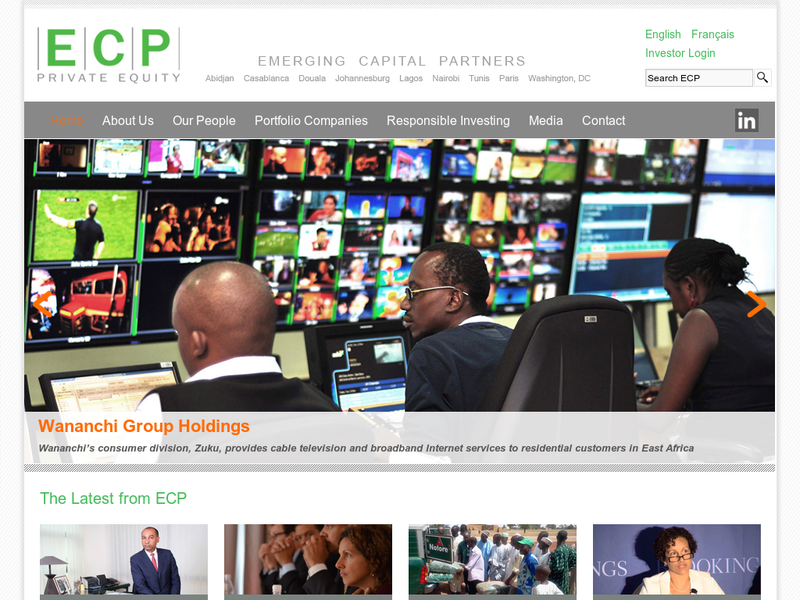 Images from Emerging Capital Partners (ECP)