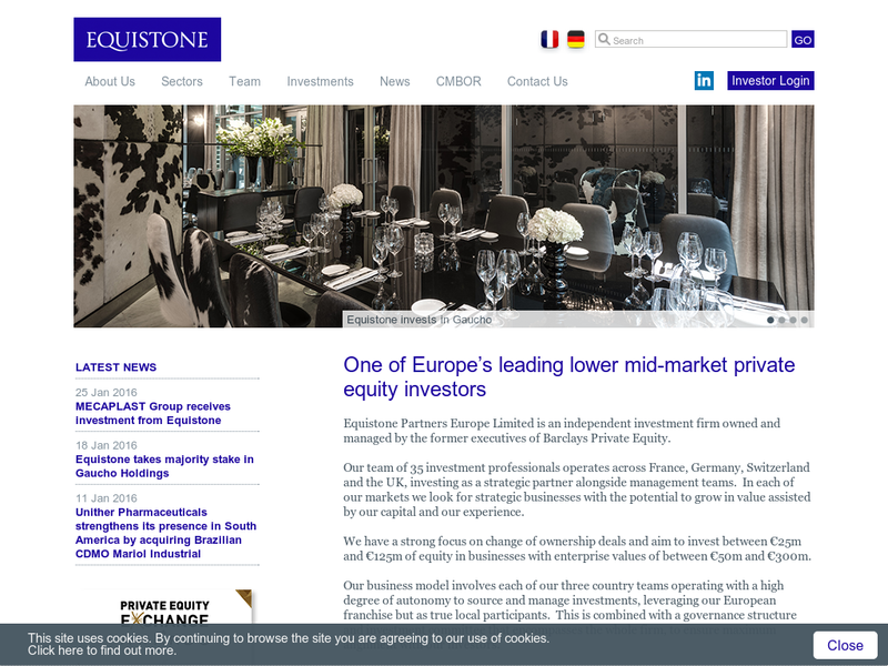 Images from Equistone Partners Europe Ltd.
