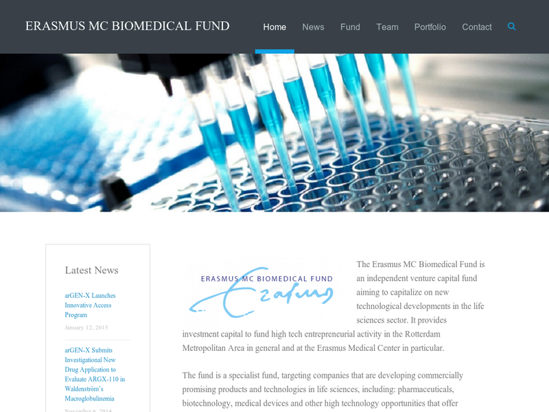 Images from Erasmus MC Biomedical Fund