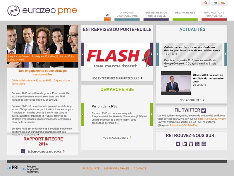 Images from Eurazeo PME